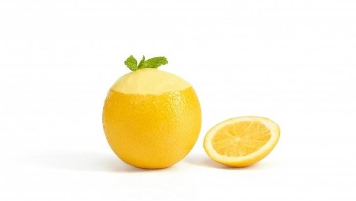 Sinaasappel sorbet