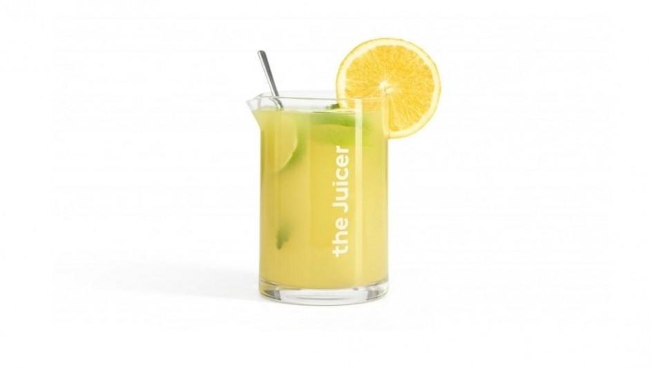 Verfrissende sinaasappel- en citroenlimonade