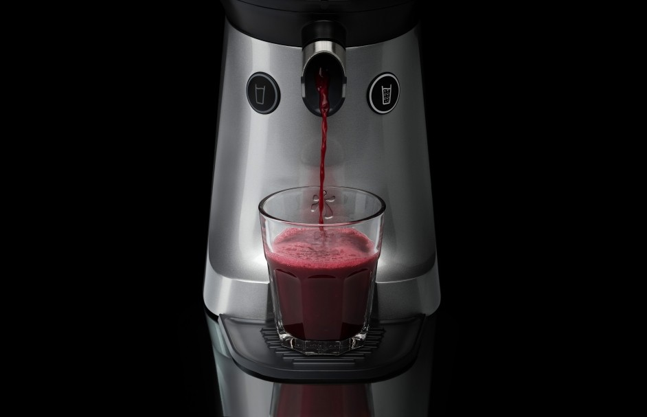 Also suitable for juicing pomegranates EP7000